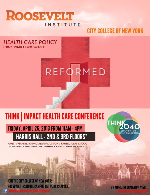 CCNY Roosevelt Institute Healthcare Conference
